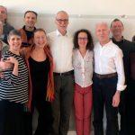 Reunión del equipo docente con Robert Schleip (European Rolfing Association-Asociación Europea de Rolfing)