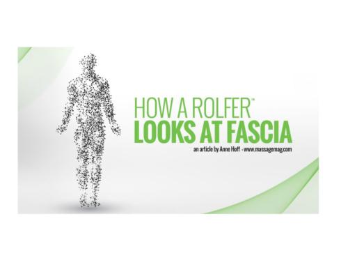 La Fascia: la mirada del Rolfer®